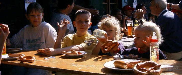 08. Juli 2000 – unser erstes Abenteuerwochenende auf der Hütte