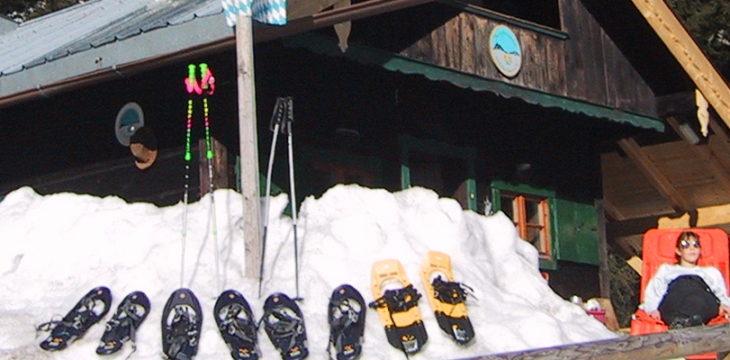 02. Februar 2002 – Ein Schneeschuh Test