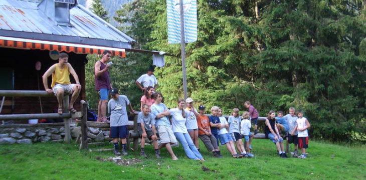 23. Juli 2004 – Abenteuerwochenende auf unserer Hütte