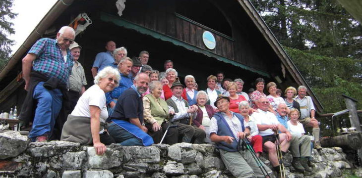 25. Juli 2007 – Seniorentag auf der Vereinshütte