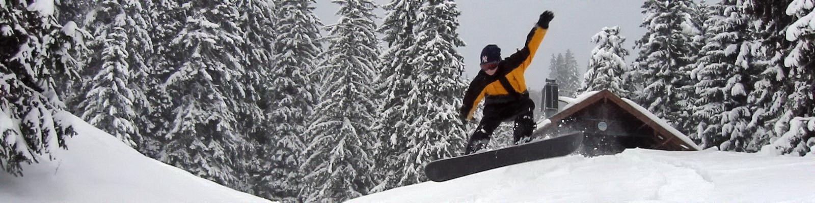 03.-05. März 2017 – Rodlen auf der Hütte- Wanderung zur Buchsteinhütte